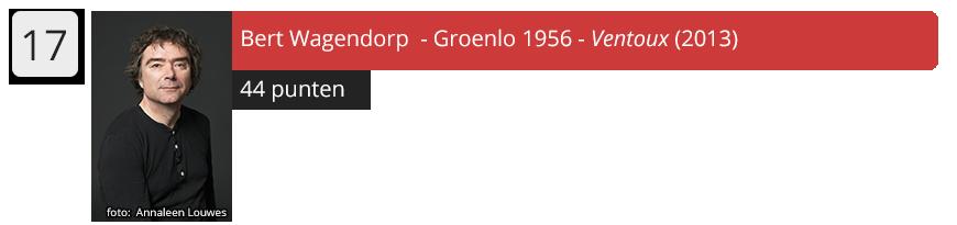 17 Bert Wagendorp