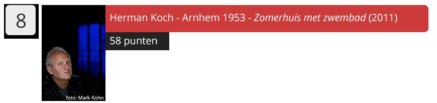 8 Herman Koch
